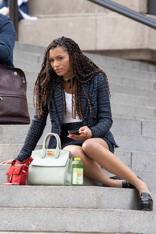 Savannah Lee Smith plays mean girl Monet de Haan in the reboot