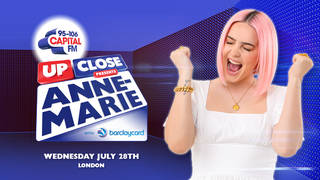 Anne-Marie will join Capital's Up Close