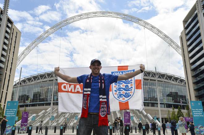 England fans have been chanting 'Sweet Caroline'
