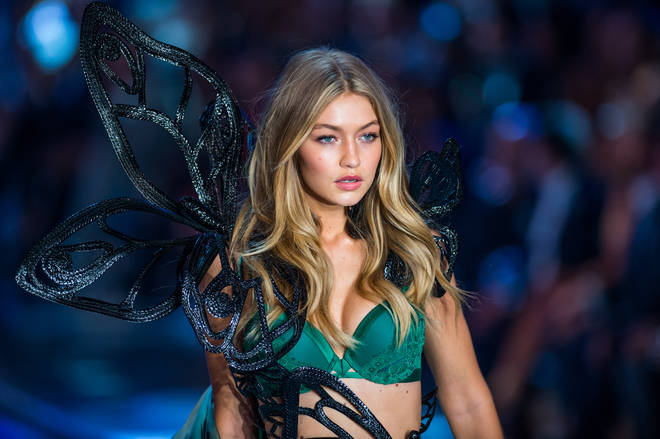 Gigi Hadid first walked in the Victoria's Secret fashion show in 2015