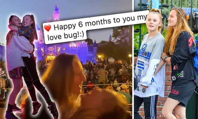 JoJo Siwa and Kylie Prew mark six months together!