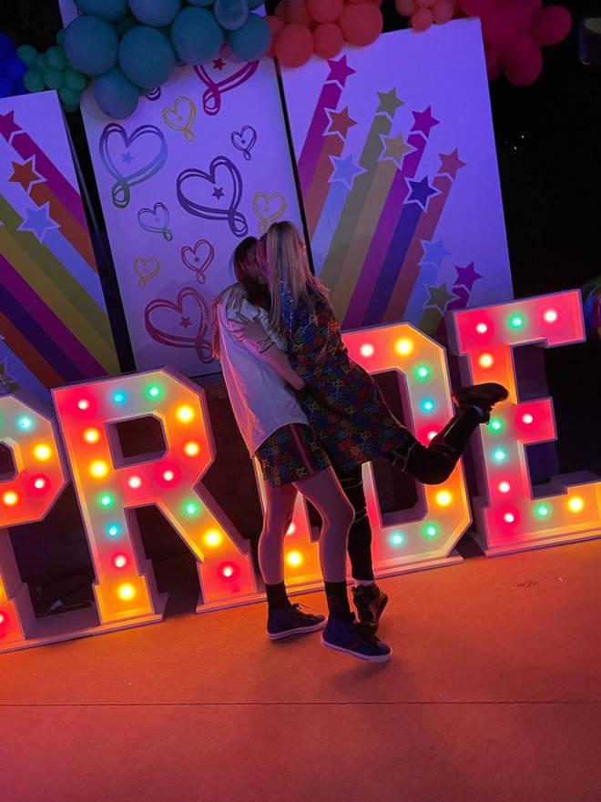 Kylie Prew and JoJo Siwa celebrate their love on social media