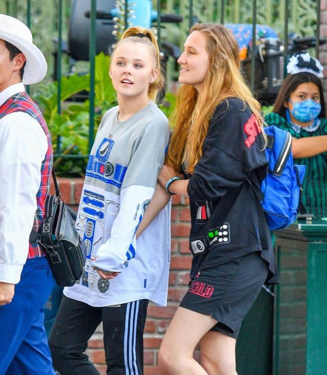 JoJo Siwa takes girlfriend Kylie Prew to Disney World to celebrate anniversary