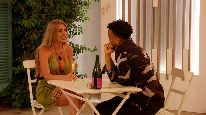 New boy, Teddy Soares, speed dates Faye Winter and three other girls