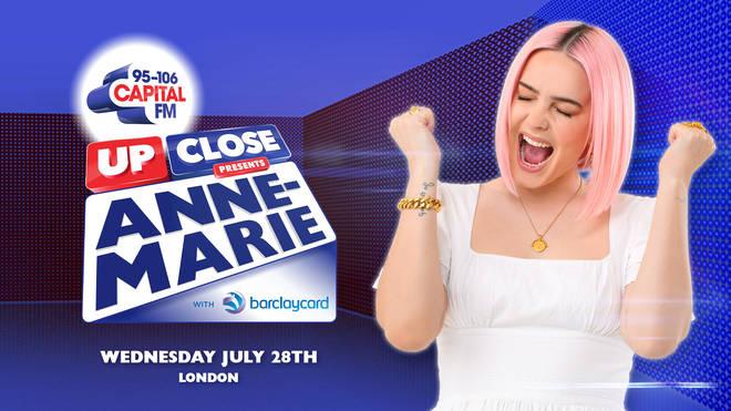 Capital Up Close Presents Anne-Marie