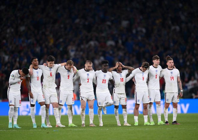 The England team have been targeted by vile online abuse since their loss at the Euro 2020 final