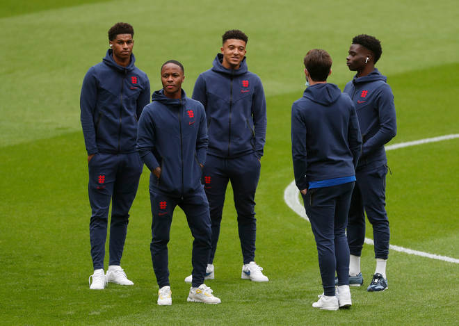 Rashford, Sterling, Sancho and Saka have been the targets of vile racist abuse