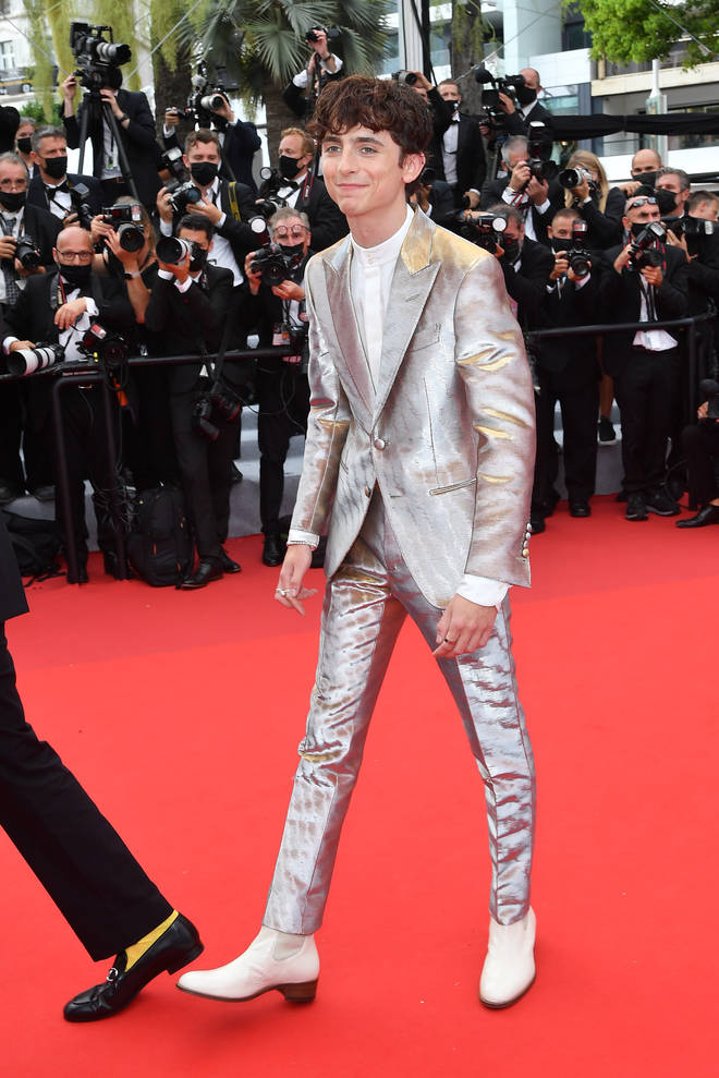 Fans of Timothée Chalamet can't stop gushing over his red carpet looks