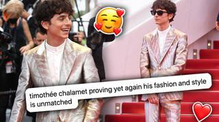 Fans can't get enough of Timothée Chalamet's latest film festival outfit