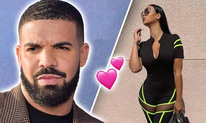 Drake steps out with new flame, Johanna Leia