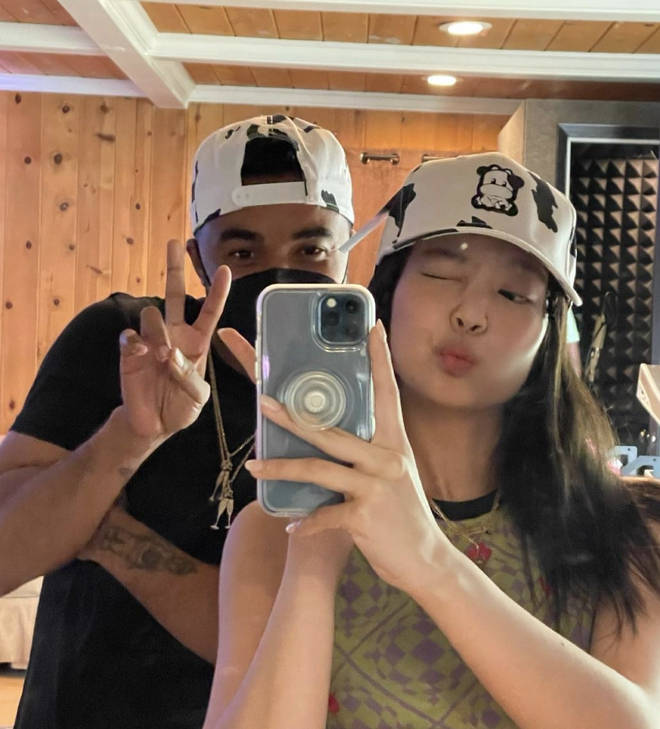 Tommy Brown and Jennie sparked speculation there's an Ariana Grande and BLACKPINK collab
