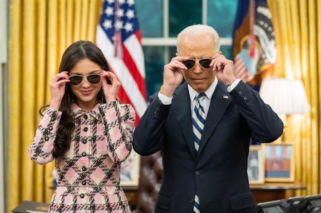 President Biden thanks Olivia Rodrigo for her speech at the White House