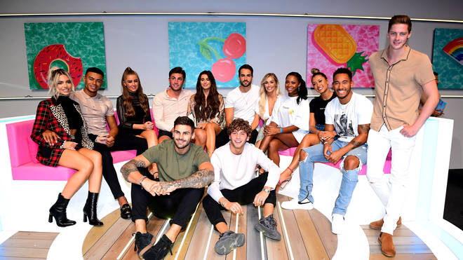 The Love Island 2018 cast including Alex George and Dani Dyer