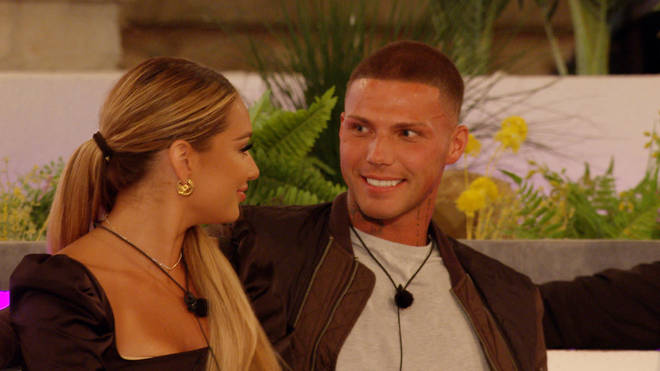 Lucinda Strafford is currently coupled up with new boy in the villa, Danny Bibby