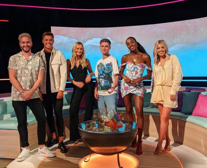 Laura Whitmore hosts Aftersun on Sunday nights