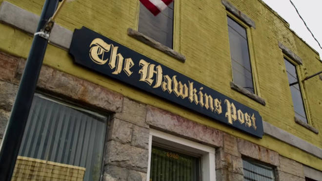 The building used for The Hawkins Post in Stranger Things features in Fear Street