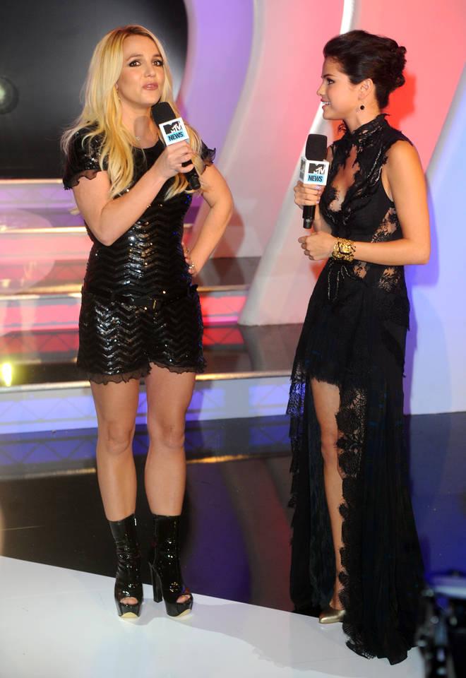 Selena Gomez has always been a fan of Britney Spears