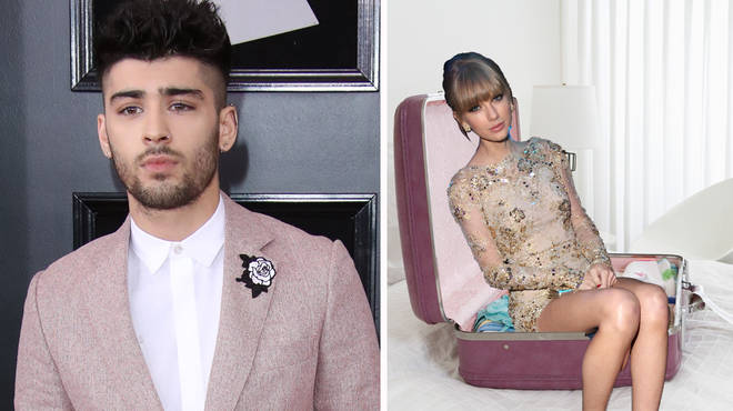 Zayn Malik seemed to confirm rumours Taylor Swift travels in a suitcase.