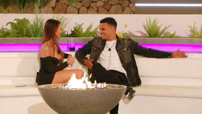 Love Island's Toby and Abigail get to know each other