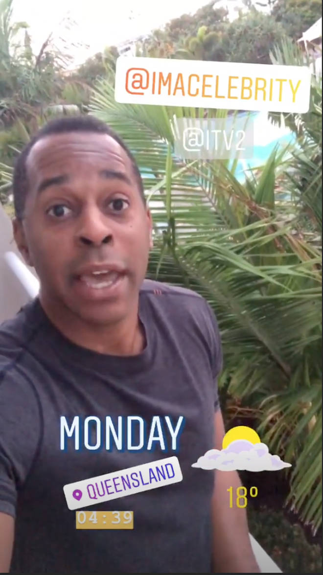 Andi Peters posted from Australia before confirming he's appearing on 'I'm A Celebrity' 2018