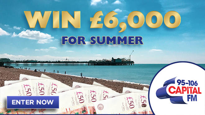 Win £6,000 for summer