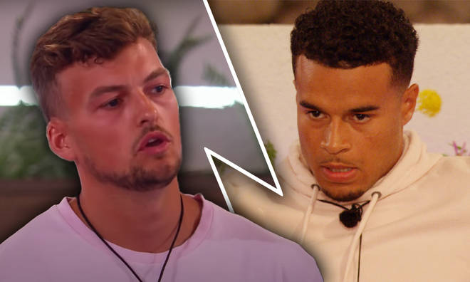 Tensions rise in the Love Island villa as Hugo puts Toby on blast