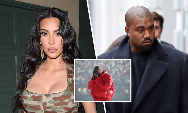 Kim Kardashian supported ex Kanye West at his album launch