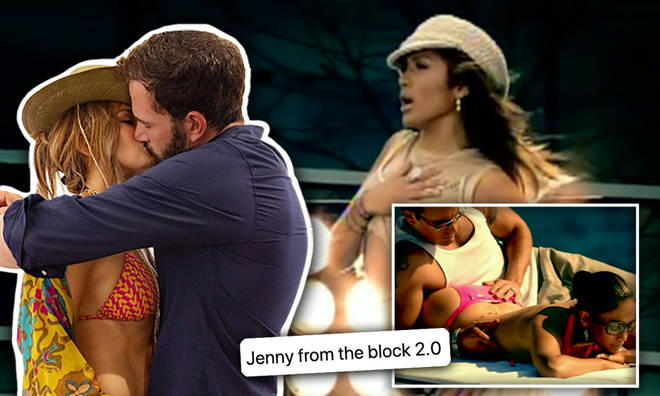 Are they recreating 'Jenny From The Block' scenes deliberately?