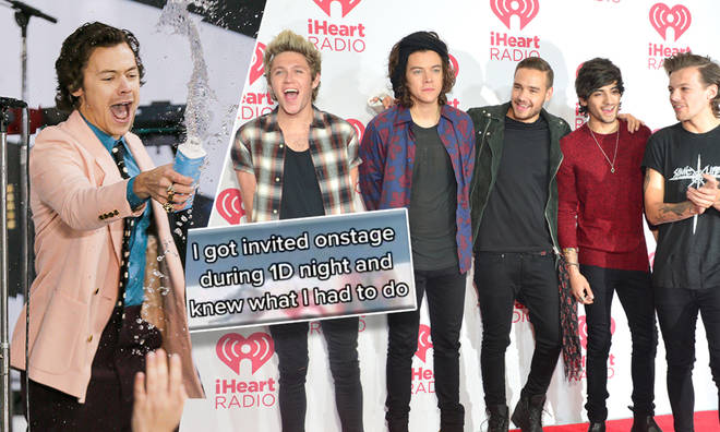 One Direction fans were sent into meltdown over the iconic Harry Styles moment