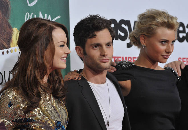Penn Badgley, Emma Stone and Aly Michalka all featured in the original 'Easy A' film