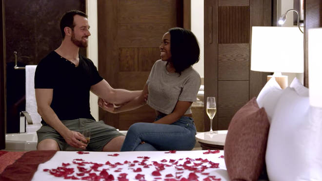 Cameron and Lauren really hit it off at the couple's retreat in Mexico