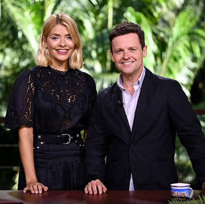 Holly Willoughby has taken over from Ant McPartlin this year.