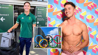 Love Island star Greg O'Shea is competing in the Olympics