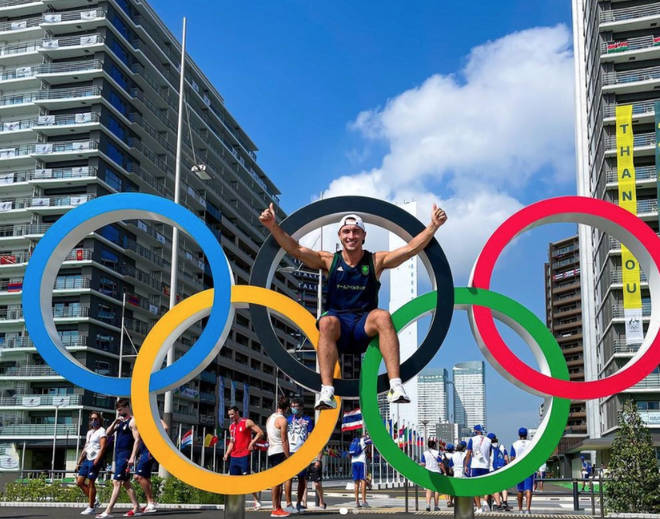 Greg O'Shea is part of Ireland's Olympic team