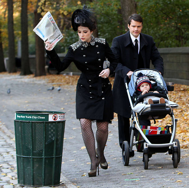 We saw a glimpse of baby Milo before Blair Waldorf's wedding to Louis Grimaldi