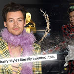 Harry Styles has a signature stage move fans have dubbed 'the whale'