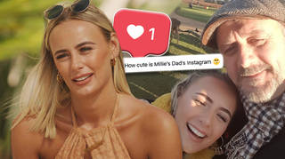Love Island fans can't get over how sweet Millie Court's dad's Instagram posts are