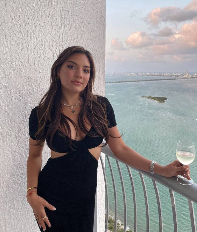 Giannina said she's moved on from almost-husband Damian