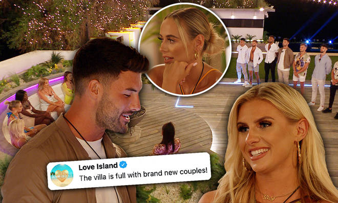Love Island has gone through a big coupling reorder!