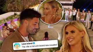 Love Island has gone through a big coupling re-jig