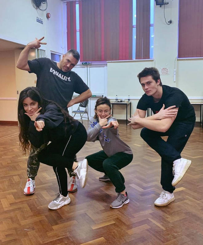 Camila Cabello and Nicholas Galitzine grew close since rehearsals for Cinderella