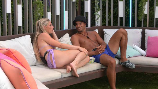 Chloe Burrows has taken Toby Aromolaran back