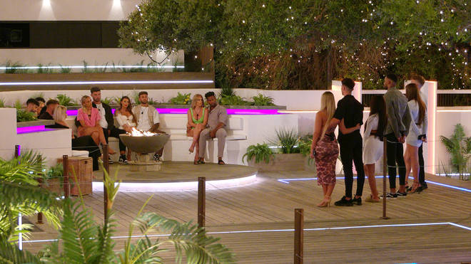 Who was dumped from the Love Island villa?