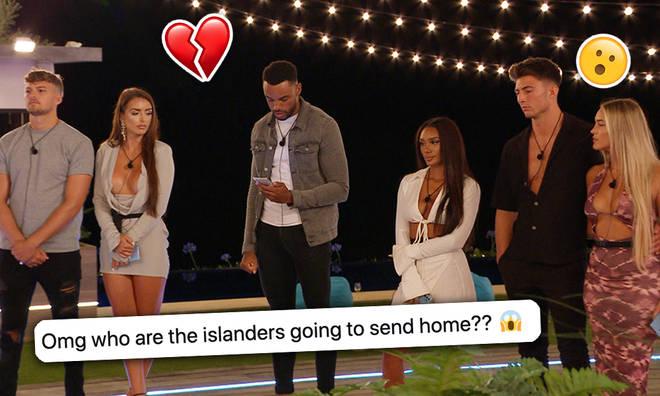 Who left Love Island last night?