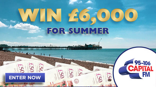 Win £6,000 for summer!