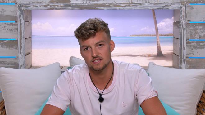 Love Island fans reacted to Hugo Hammond and Jake Cornish's awkward moment