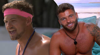 Love Island's Jake blanked Hugo's fist bump and the clip has gone viral