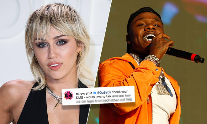Miley Cyrus has spoken out about cancel culture after DaBaby came under fire