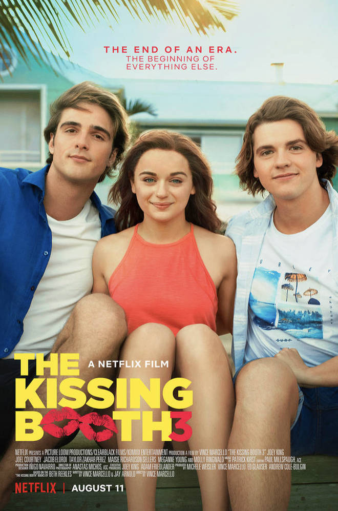 Joey King stars as Elle Evans in the Kissing Booth 3
