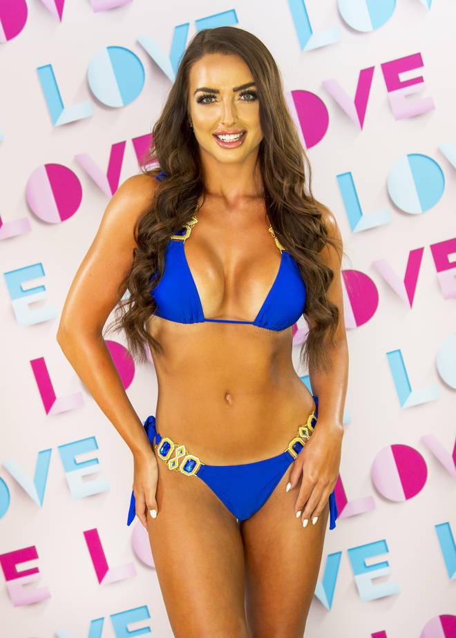 Amy Day left Love Island with Hugo Hammond